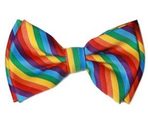 rainbow-bow-tie