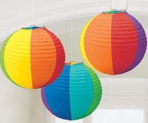 rainbow-round-paper-lanterns