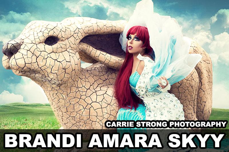 Brandi Amara Skyy, Dallas Drag Queen, Interview