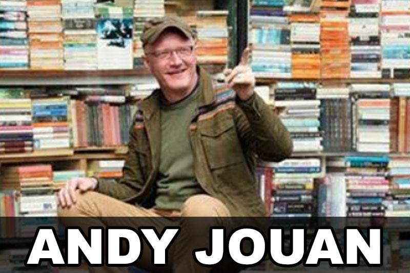 Andy Jouan, Bournemouth Artist, Singer, Songwriter & Guitarist; Interview